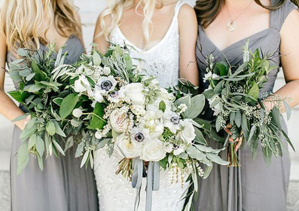 Trends In Wedding Day Buffets That You Need On Your Big Day: WEDDING TRENDS 2017: GREENERY