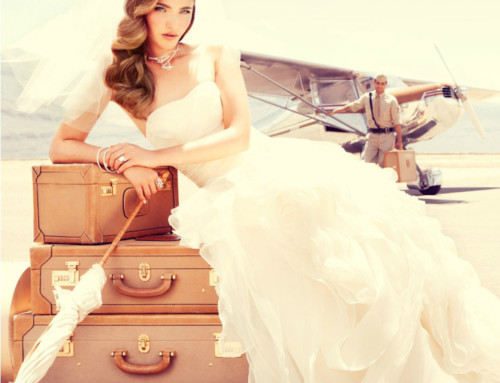 Becoming a Bridezilla: the dress and THE plane
